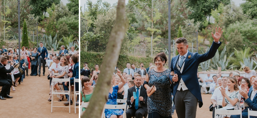 Boda viajera en la Masía L'Avellana. Travel inspired wedding in Spain. YolanCris wedding dress