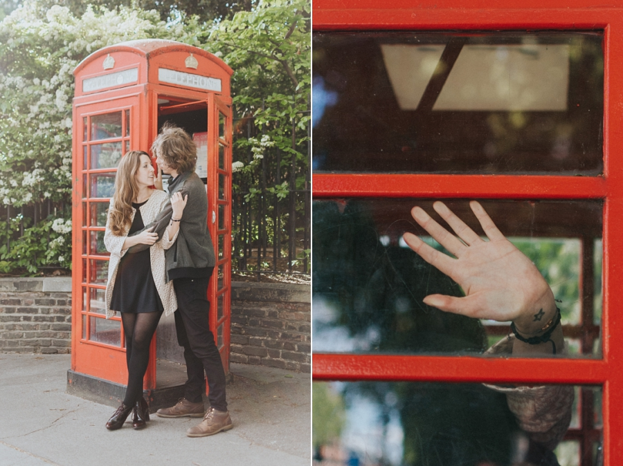 Sesión de preboda en Londres. London engagement session