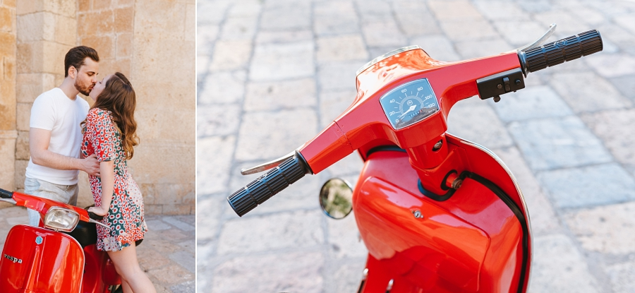 Rome inspired session with Vespa