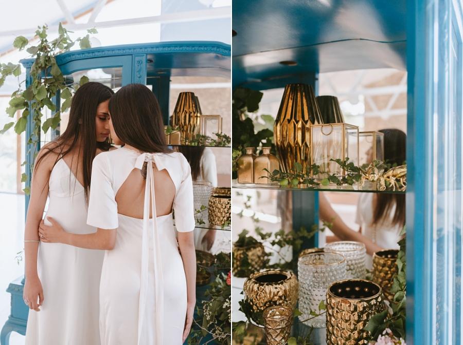 Inspiración floral en L'Avellana con vestidos de Ramón Herrerías