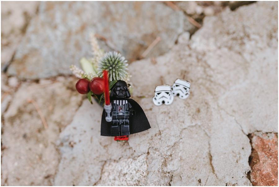 detalles boda star wars