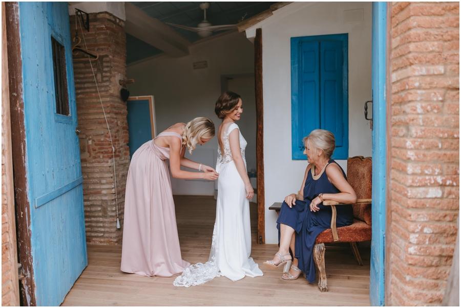 boda aire libre avellana tarragona novia