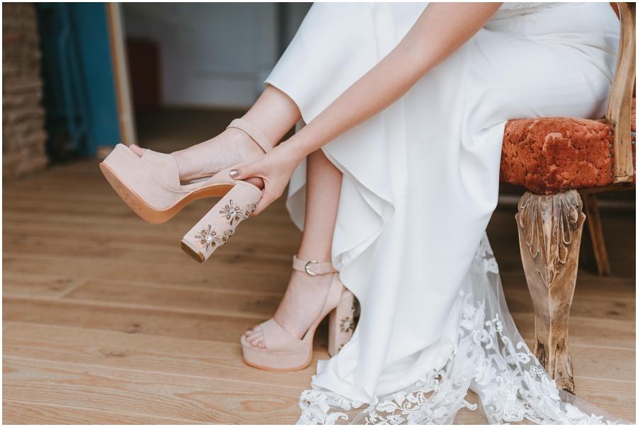 boda aire libre avellana tarragona zapatos novia
