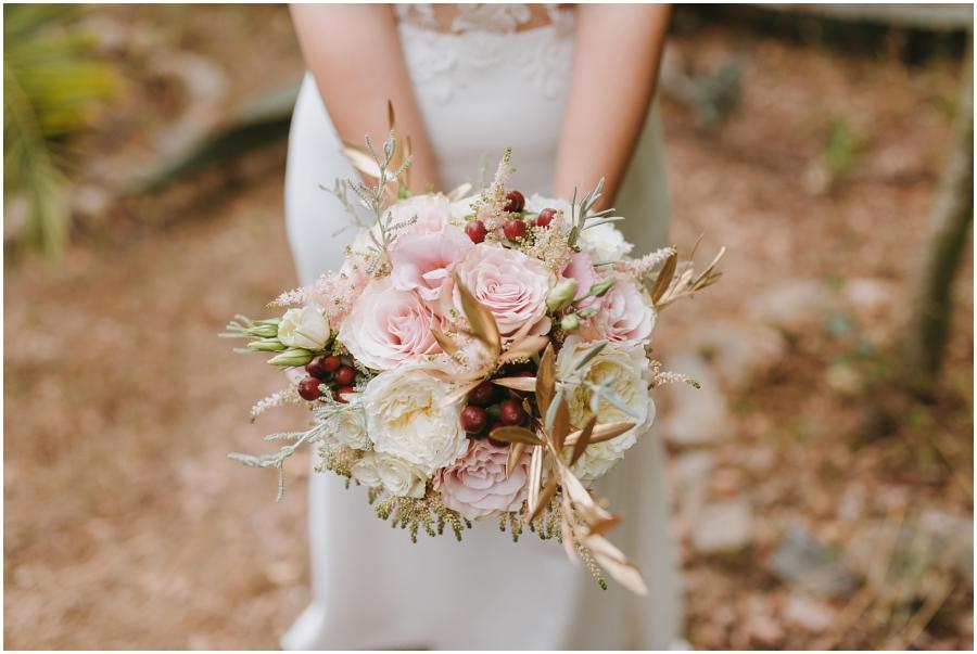 boda aire libre avellana tarragona ramo novia dorado