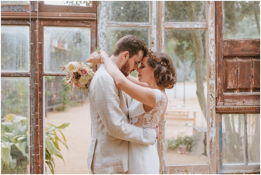 boda aire libre avellana tarragona invernadero