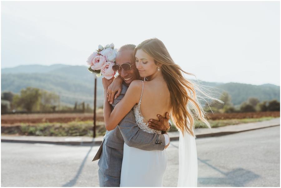 Destination wedding en la Costa Brava Spain Charli Taft