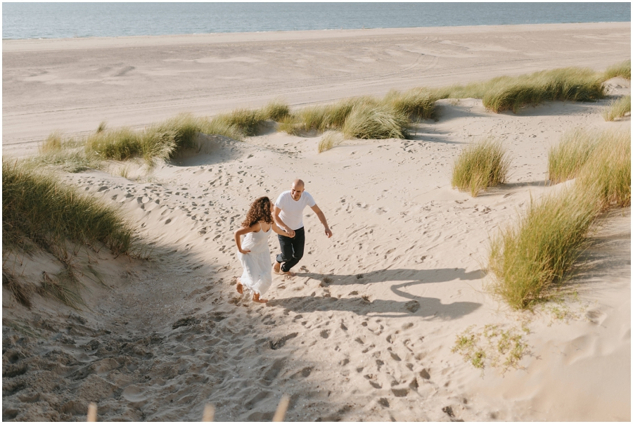 Dunes engagement session preboda dunas