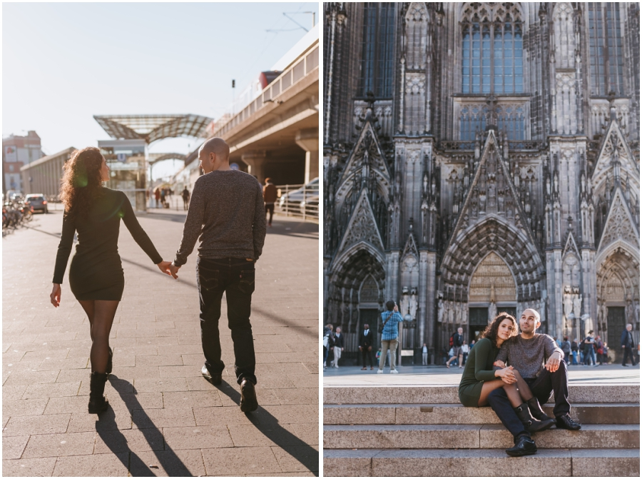 Fotos Preboda Colonia ciudad Alemania Germany engagement session