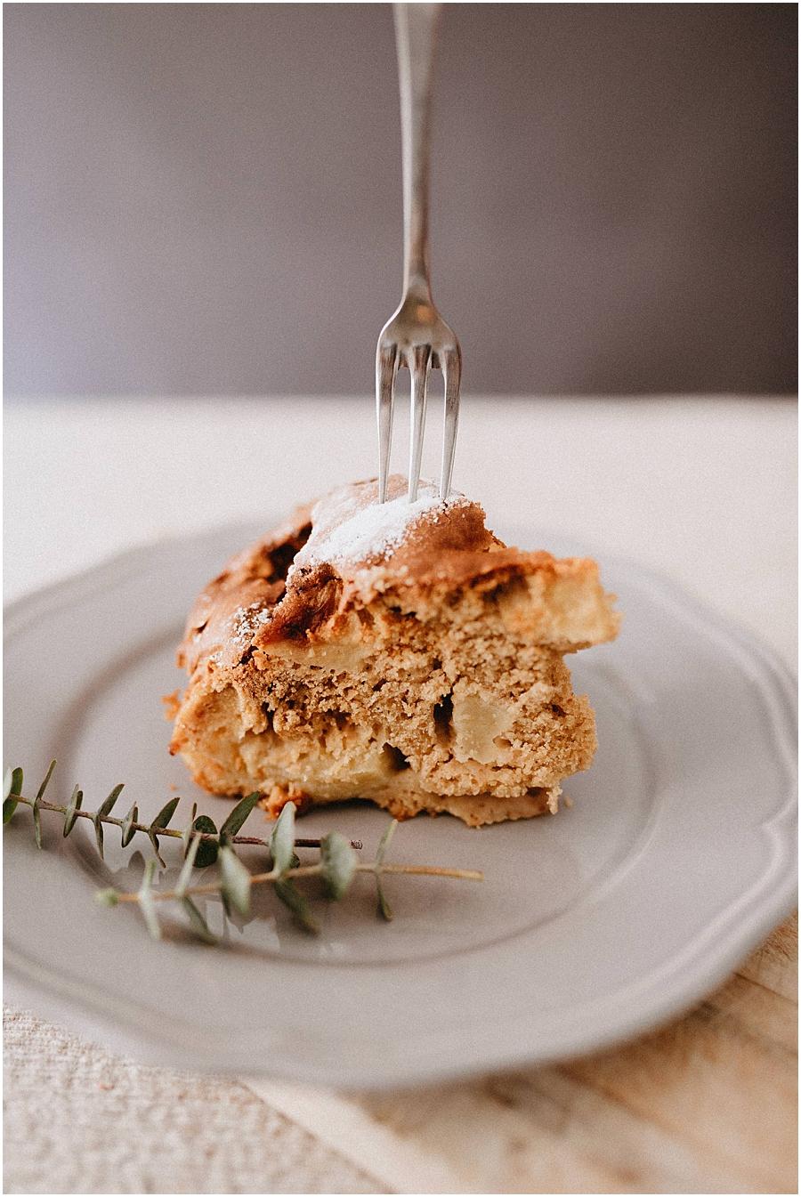 apple pie tarta de manzana food photography