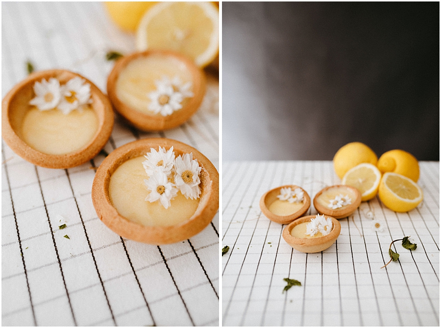 lemon curd tartaletas limon food photography fotografia gastronomica